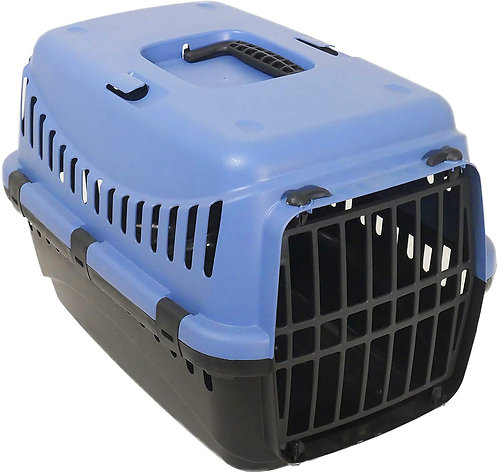 Rosewood Eco Line Recycled Plastic, Pet Carrier Small, Slate Blue