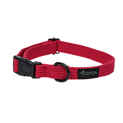 Gor Pets Gor Cotton Dog Collar Small Red