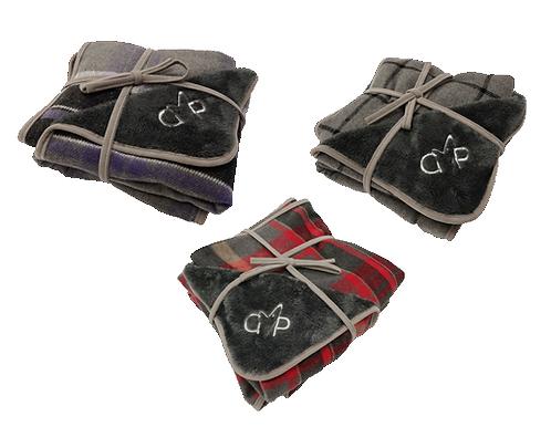 Gor Pets Camden Blanket - Purple Check