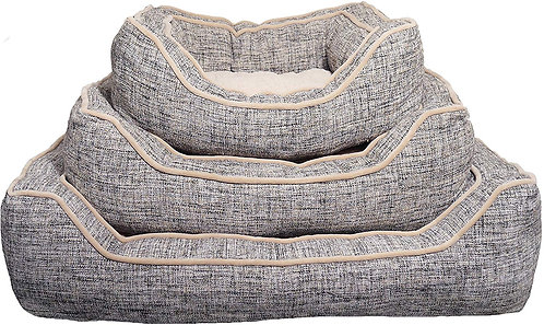 Rosewood Luxury Slate & Oatmeal Square Sleeper - Small