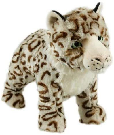 Animal Instincts Snow Mates Sophia Snow Leopard Dog Toy - Large
