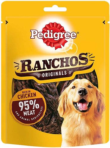 Pedigree Ranchos Dog Treats Chicken 70g
