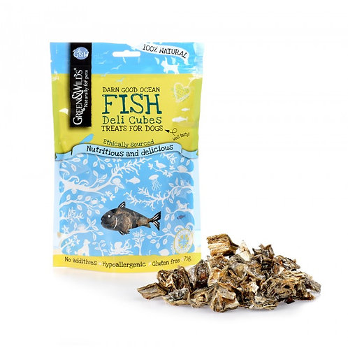 Green & Wilds Fish Deli Cubes 75g