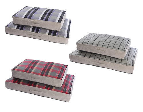 Gor Pets Camden Sleeper Bed - Purple Check