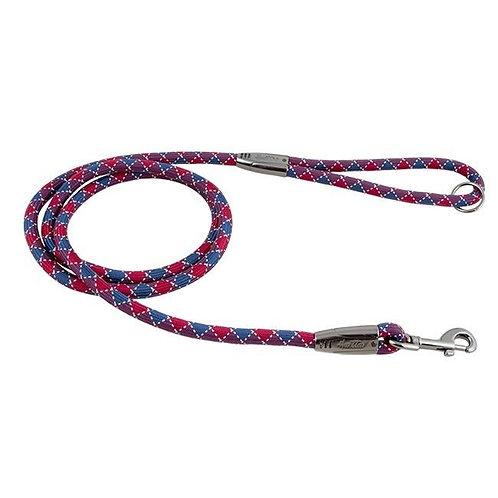 Hurtta Casual Rope Leash Lingon/River 120cm x11mm