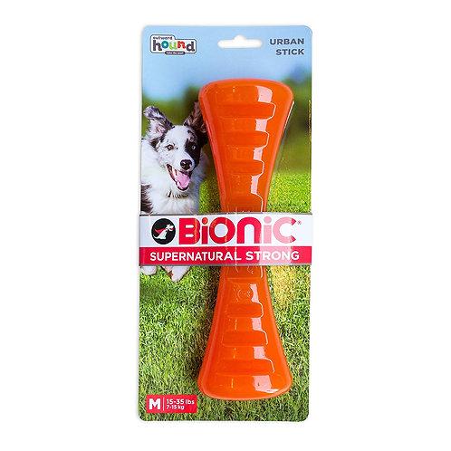 Outward Hound Bionic Tough Rubber Dog Stick Treat Toy Medium
