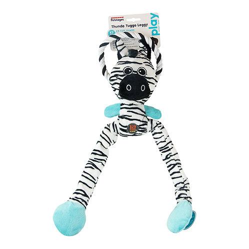 Petstages Thunda Tugga Leggy Zebra