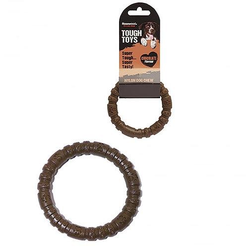 Rosewood Tough Toys Nylon Chocolate Ring Small