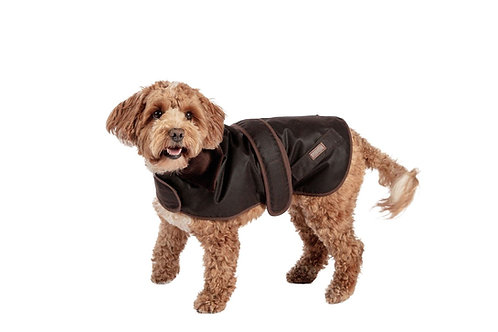 FatFace Sussex Wax Dog Coat 18""