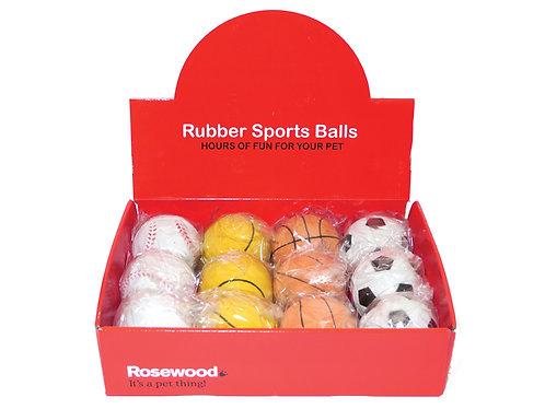 Rosewood Rubber Sport Balls