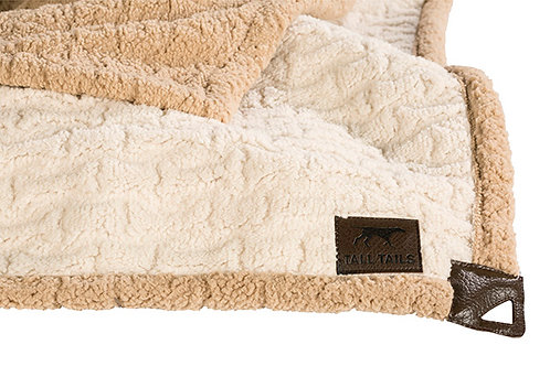 Tall Tails Micro Sherpa Pet Throw Medium