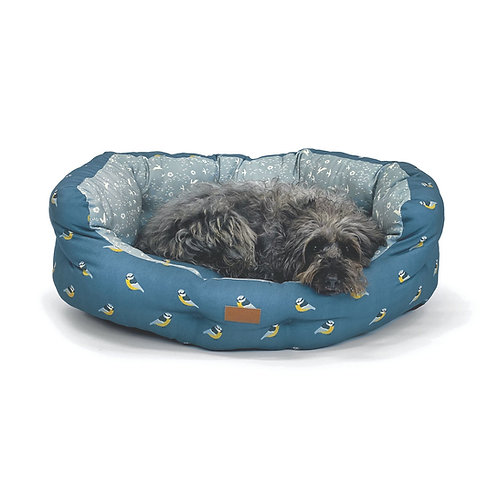 FatFace Flying Birds Deluxe Slumber Dog Bed, 40""