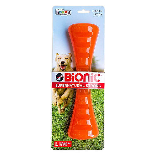 Outward Hound Bionic Tough Rubber Dog Stick Treat Toy Large