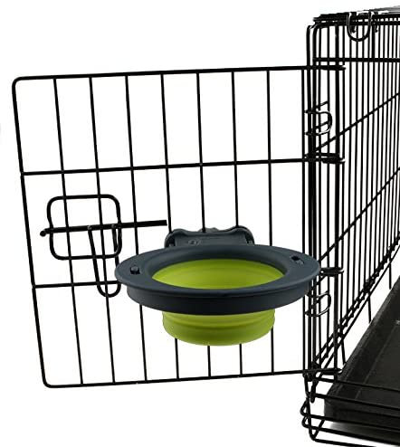 Dexas Popware Collapsible Kennel Bowl Green Small