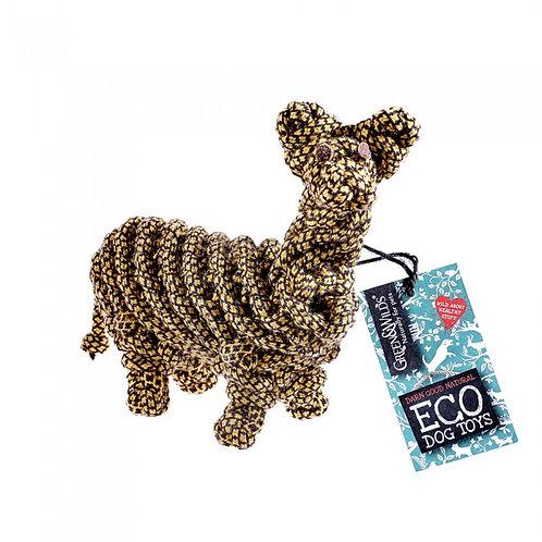 Green & Wilds Lionel Llama Eco Dog Toy