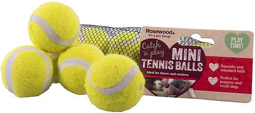 Rosewood 5pk Mini Assorted Tennis Balls