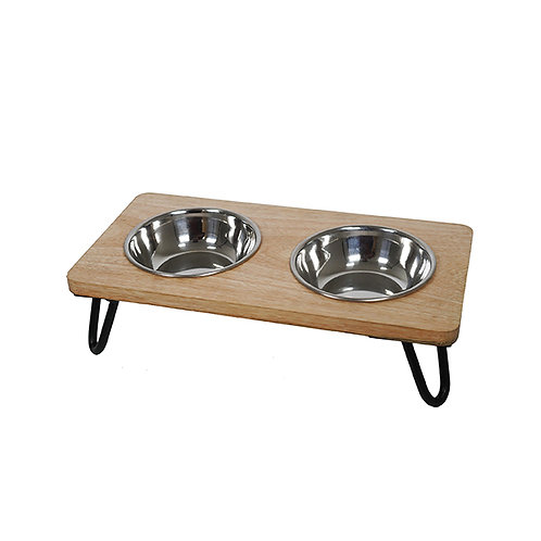 Rosewood Wooden Double Diner - 350ml X 2