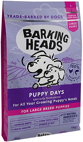 Barking Heads Puppy Days Large Breed 12kg