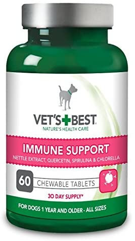 Vets Best Immune Support Tablets 60pc