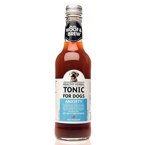 Woof & Brew Anxiety Herbal Tonic 330ml