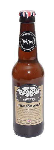Woof & Brew Bottom Sniffer Dog Beer, 330 ml