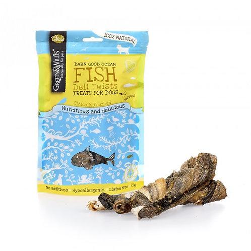 Green & Wilds Fish Deli Twists 75g