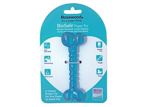 Rosewood BioSafe Puppy Bone Blue