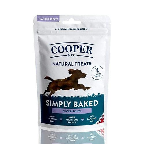 Cooper & Co Grain Free Duck Biscuits - Training Treats 100g