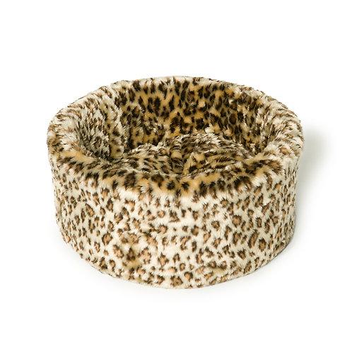 Danish Design Leopard Cat Cosy Bed