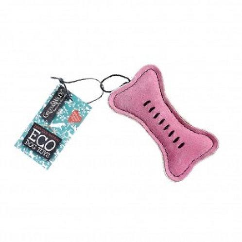 Green & Wilds Pinkie Bone Eco Dog Toy