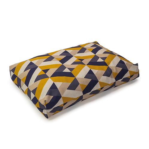 Danish Design Retreat Eco-Wellness Geo Tile Duvet Bed