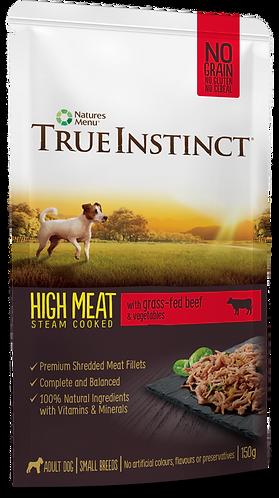 Natures Menu Small Breed True Instinct Beef Fillets 8x150g
