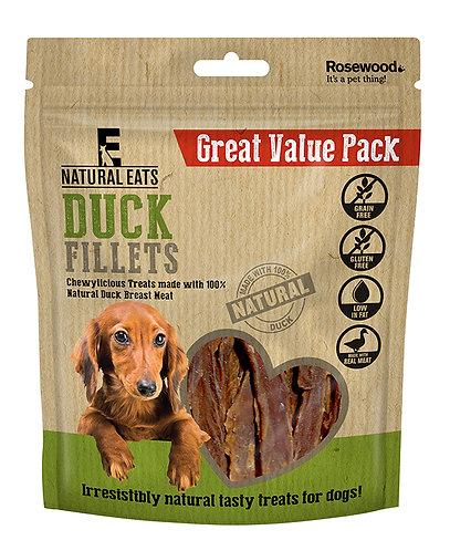 Rosewood Natural Eats Duck Fillets Value Pack 320g