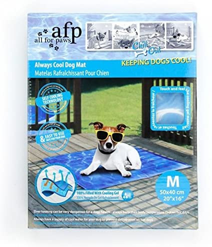 All for Paws Chill Out Cooling Mat for Dogs Large