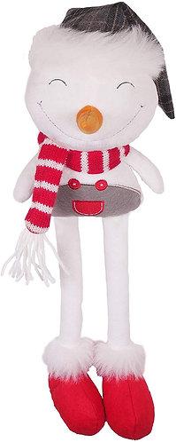 Rosewood Plush Jolly Christmas Snowman Dog Toy