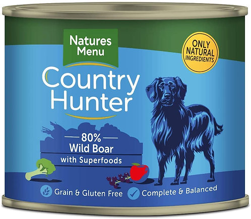 Natures Menu Country Hunter Wild Boar 600g
