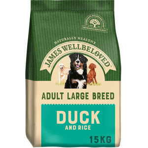 James Wellbeloved Adult Large Breed Duck and Rice 15kg