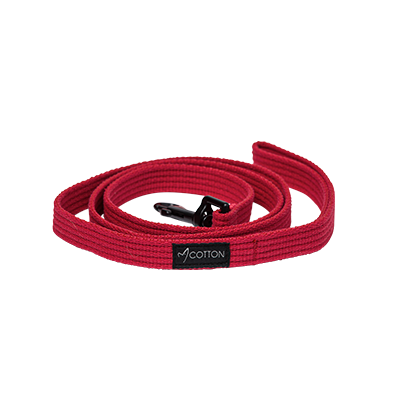 Gor Pets Cotton Dog Leash Medium Red