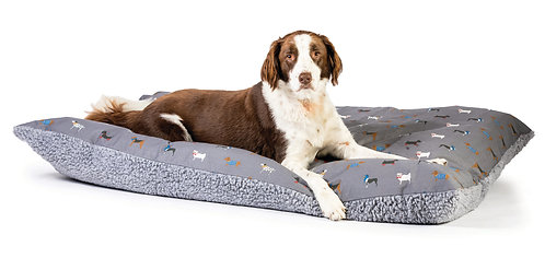FatFace Marching Dogs Deep Duvet Large