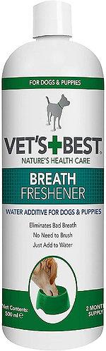 Vets Best Dental Breath Freshener Water Additive for Dogs, 500 ml