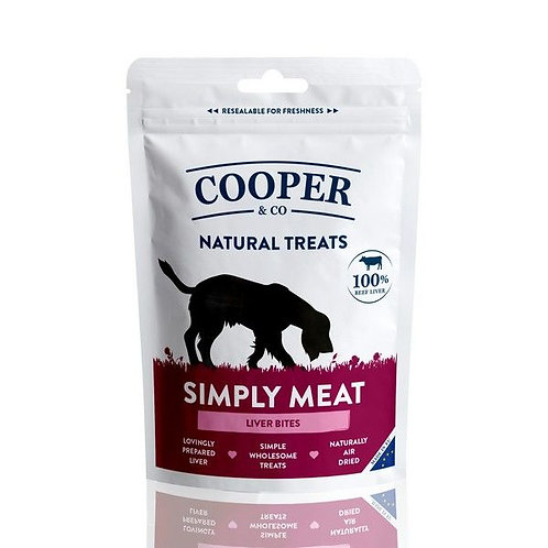 Cooper & Co Simply Meat Liver Bites 100g