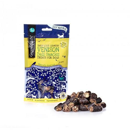Green & Wilds Venison Deli Snacks 75g