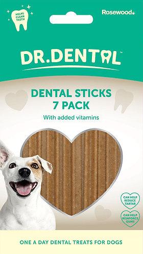 Rosewood Dr Dental Dental Sticks 7pk