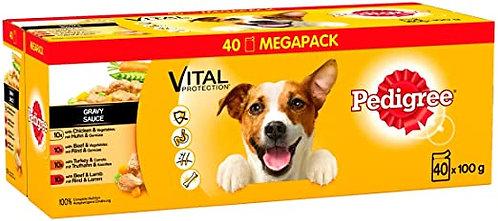 Pedigree Dog Pouches Mixed Gravy 100g 40 for 36
