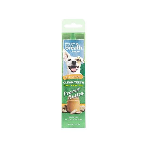 TropiClean Clean Teeth Oral Care Gel Peanut Butter 59ml