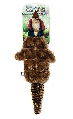 Gor Pets Wild Multi-Squeak Pheasant Toy