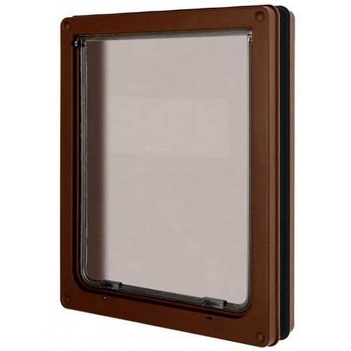 Pet Mate Large Dog Door - Brown