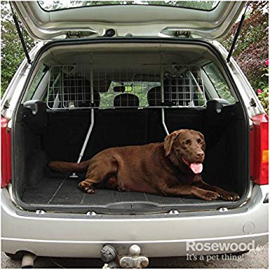 Rosewood Car Dog Guard