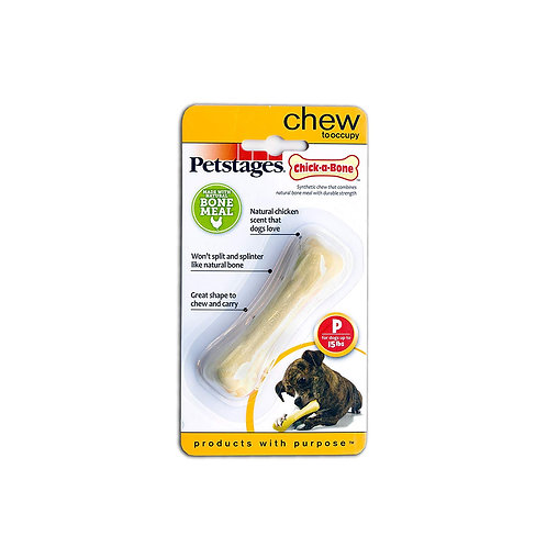 Petstages Chick-a-Bone Chicken Flavoured Dog Chew Toy, Petite