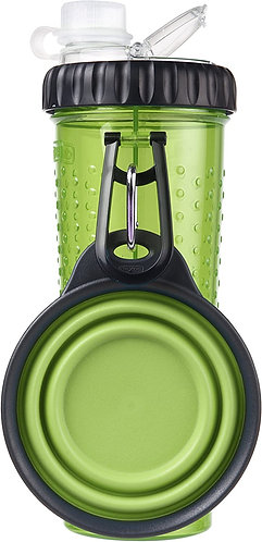 Dexas Popware Snack-Duo Green with Travel Cup